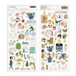 Pebbles - The Avenue - Cardstock Stickers (736960)